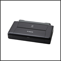 Canon PIXMA iP110 Portable Printer with Battery