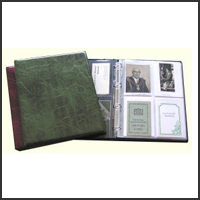 A4 Deluxe Portrait Binder in Cedar Green