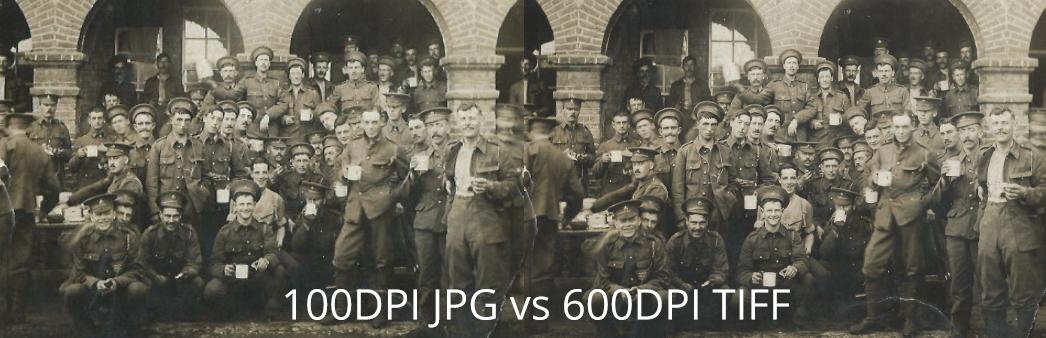 Full Size 100 Jpg vs 600 Tiff