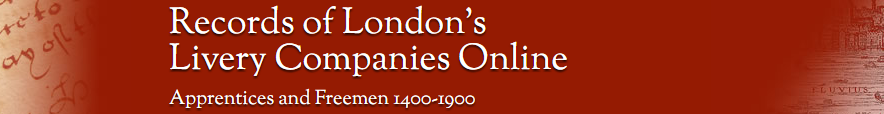 livery companies website banner